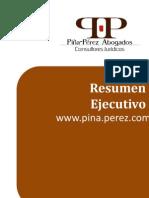 Folleto Servicios Jurídicos Piña-Pérez