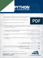 IronPython Calculator Fillable