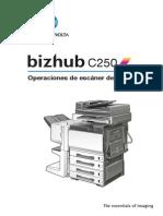Bizhub c250 Um Scanner-operations Es 1-1-1 Phase3