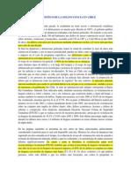 Delincuencia en Chile