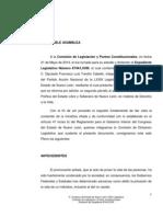Dictamen de la iniciativa anti-aborto del PAN en Nuevo León