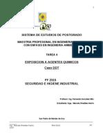 Tarea 4. Caso de Exposición a Agentes Químicos. Marcela Shedden
