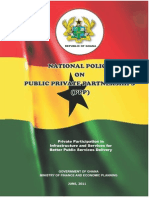 Ghana National Policy on Public Private Partnership