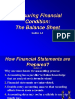 Basic Finance- The Balance Sheet