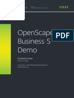 OpenScape Business S Demo Installation Guide