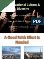 A Good Faith Effort is Needed