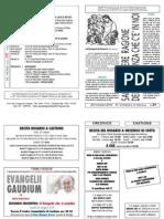 foglietto domenicale n21 del 25 maggio 2014