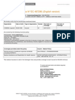 Overseas Mediclaim Policy