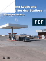 Preventing Leaks and Spills Service Stations