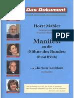 Manifest an die Söhne des Bundes - Horst Mahler.pdf
