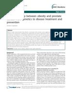 Obesitas and CA Prostat