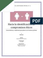 Hacia La Identificación de Compromisos Ético1
