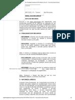 Estude Direito!_ Resultados Da Pesquisa PROCESSO CIVIL_ 01 - Teoria Geral Dos Recursos
