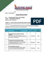 United Industrial Aid Lahore 23-5-2014