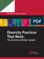 NUL Diversity Study