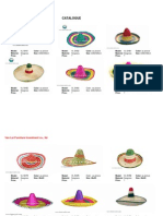 Catalogue of Straw Hat