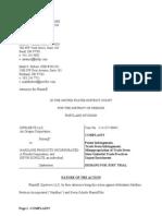 ZipSleeve v. Hardline Products Et. Al.