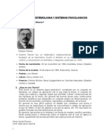 Ciencia Epistemologia y Sistemas Psicologicos