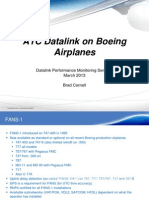 10. ICAO-ATC Datalink on Boeing Airplanes