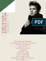 John Mayer Continuum Songbook Pdf