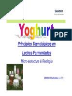 DANISCO Tecnologia Yogurt