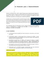 Apresentação Site IFDR 2009