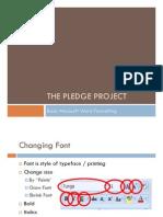 Pledge Project