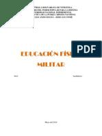 Educación Física Militar