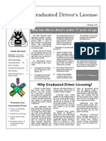 Graduated Driver License Newsletter