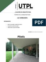 Le Corbusier Pilotes Planta Libre