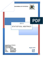 Uganda Statistical Abstract 2013