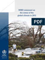 WMO Statement on the Status of the Global Climate in 2013