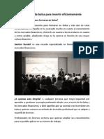 Curso de Bolsa Madrid