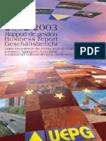 Pub 6 en Uepg Annual Report 2002 2003