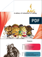 Academy of Animation and Gaming New Delhi- Brochure