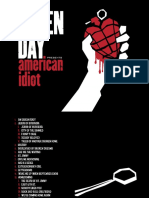 Digital Booklet - American Idiot