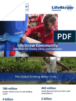 Life Straw Community Overview