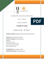 MDO - We Change - Relatório de Aula