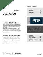 Manual TX-8050 FrEs