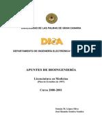 Apuntes BioIngeniería ULPGC 2001