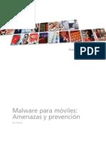 Malware Para Movile Amenazas y Prevencion