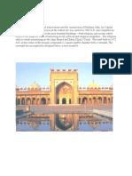 Mughal Emperor Architecture