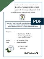 Sistemas Distribuidos Informe