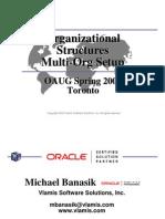 Oracle Multi-org