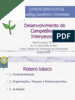 Desenvolvimento de Competências Interpessoais