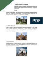 Centros Turísticos de Guatemala
