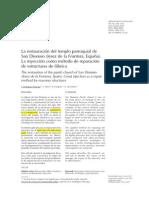 Restauración templo parroquial San Dionisio · Informes Construcción.pdf