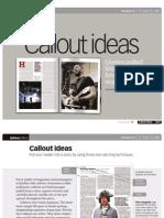 Callout Ideas
