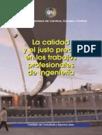 La Calidad y el Justo Precio en los Trabajos Profesionales de Ingeniería.pdf