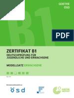 Zertifikat B1 Deutsch